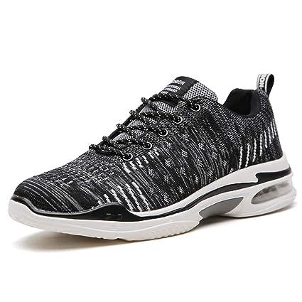 Shoe house Zapatillas de Running Hombres Zapatos de Moda Ligera Deportiva Deportiva Zapatillas de cojín de