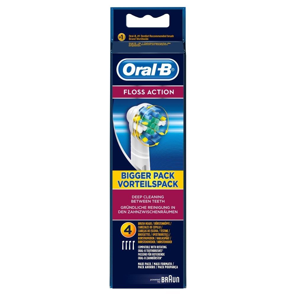 Oral-B Floss Action 4pieza(s) Multicolor cepillo de cabello - Cabezal (