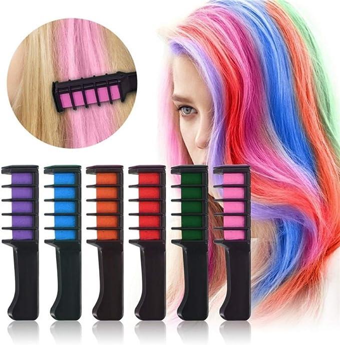 Mini peinetas desechables para el cabello, color temporal ...