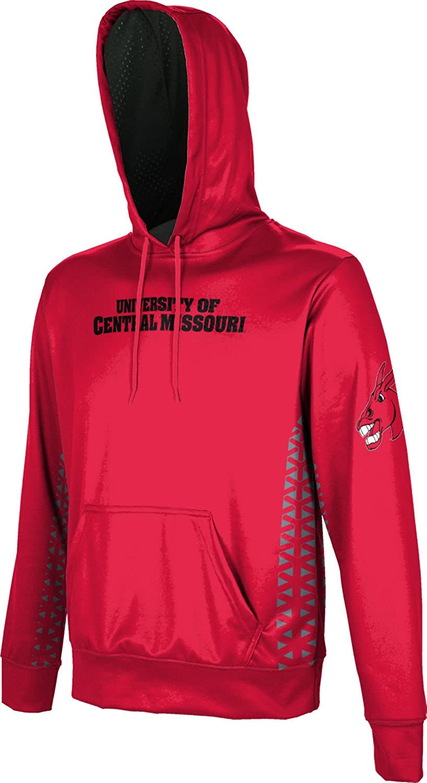 School Spirit Sweatshirt Geo ProSphere University of Central Missouri Mens Pullover Hoodie