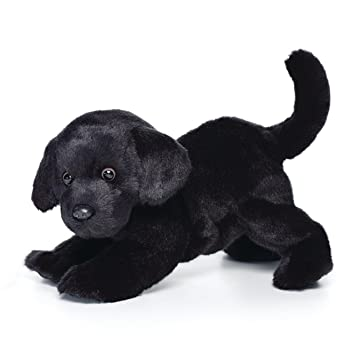 ce4fed6501d7 Image Unavailable. Image not available for. Color: Large Black Labrador Dog  Midnight Black Children's Plush Stuffed Animal Toy