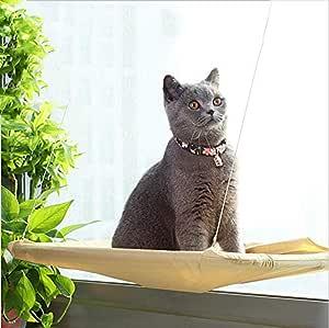Freyamall Hamaca para Gato, Percha de Ventana para el baño