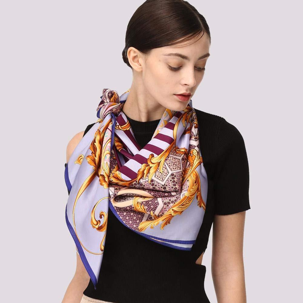 9ae7b5f9103 Amazon.com: Weiwei Women's Silk Scarves Lady Scarf Shawl 100 ...