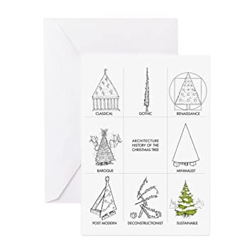 cafepress architecture history of christmas tr greeting card note card birthday card