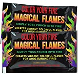 Magical Flames: Creates Vibrant, Colorful Flames for Wood Burning Fires! (10)