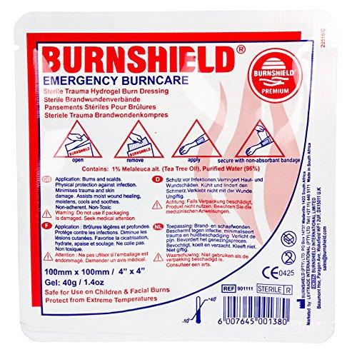 burnshield hydrogel burn dressing - 2