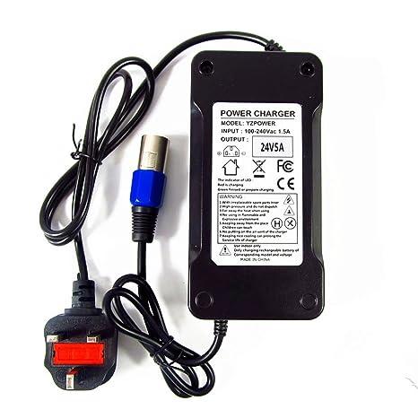 Abakoo Mobility Scooter - Cargador de batería para Schwinn S500 eZip 4.0 400 500 750 900