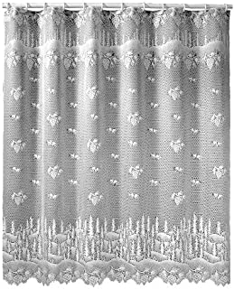 product image for Heritage Lace Pinecone 72-Inch by 72-Inch Shower Curtain, Ecru