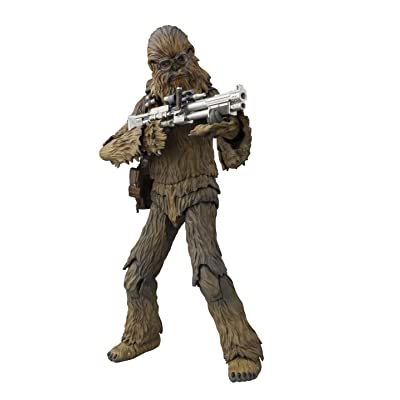 Bandai S. H. Figuarts Star Wars (STAR WARS) Chewbacca (SOLO) about 175 mm ABS & PVC painted movable figure Japan Import: Toys & Games