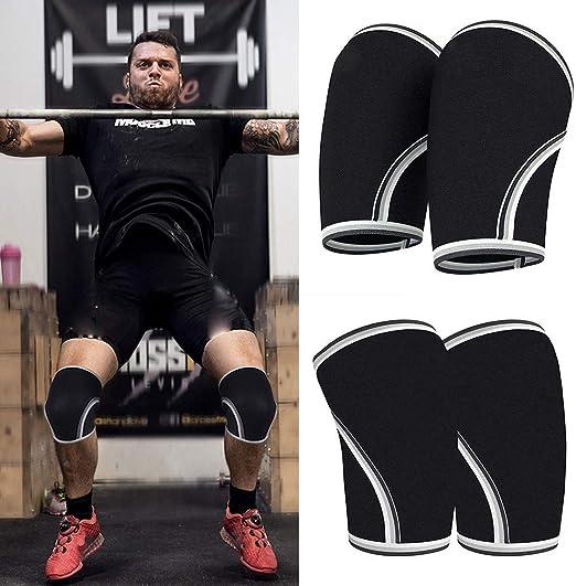 Hemlock Men Knee Support Kneepad Compression Knee Support Running Basketball Lift Knee Pads Elastic Band