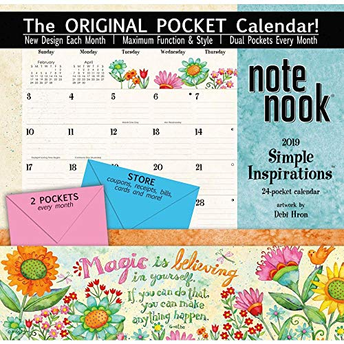 Lang WSBL Simple Inspirations 2019 Note Nook -