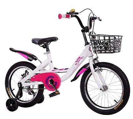 JBHURF Bicicletas Plegables para niños y niñas, cochecitos ...