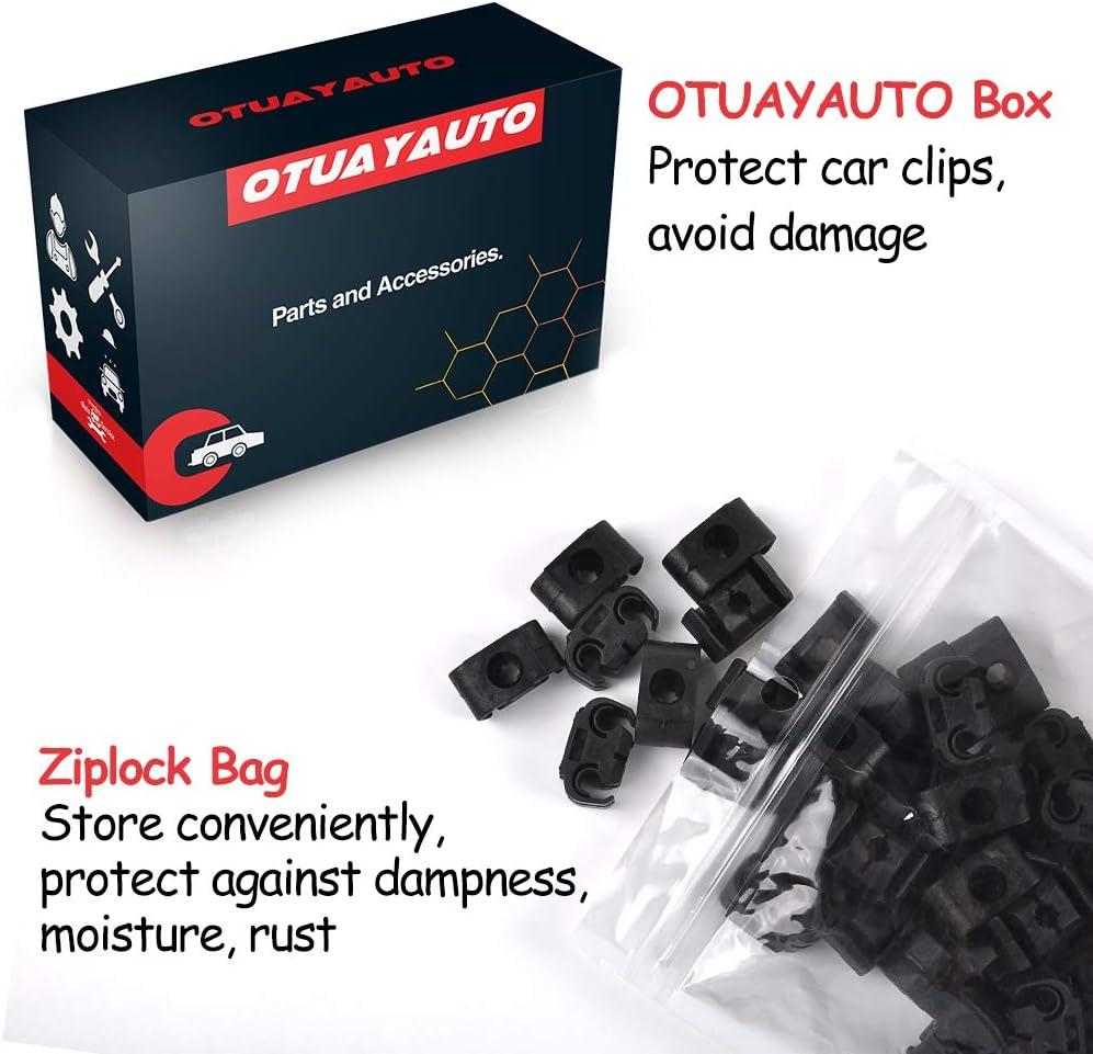 OTUAYAUTO 811611797-50 piezas de soporte para cable de freno pinza para todos los tubos de freno de 4,75 mm