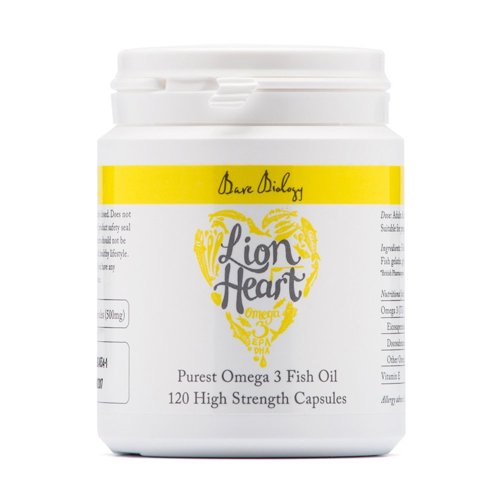 Bare Biology - Lion Heart - Capsules - 84g by Bare Biology (Image #1)