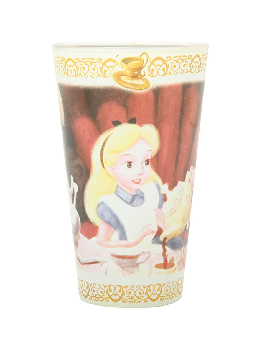 Disney Alice In Wonderland Tea Party Pint Glass Hot Topic