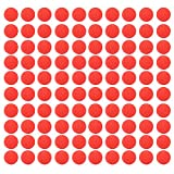 XCSOURCE 100Pcs Round Bullet Ball Refill Compatible Replace Ammo for Nerf Rival Apollo Zeus Kids Toy Gun Blaster Red TH700