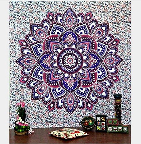 XIULIHUI Tapestry Wall Hanging Wall Art Tapestries Dorm Decor Bedspread Picnic Bedsheet Blanket Beach Mat 60X80 inches