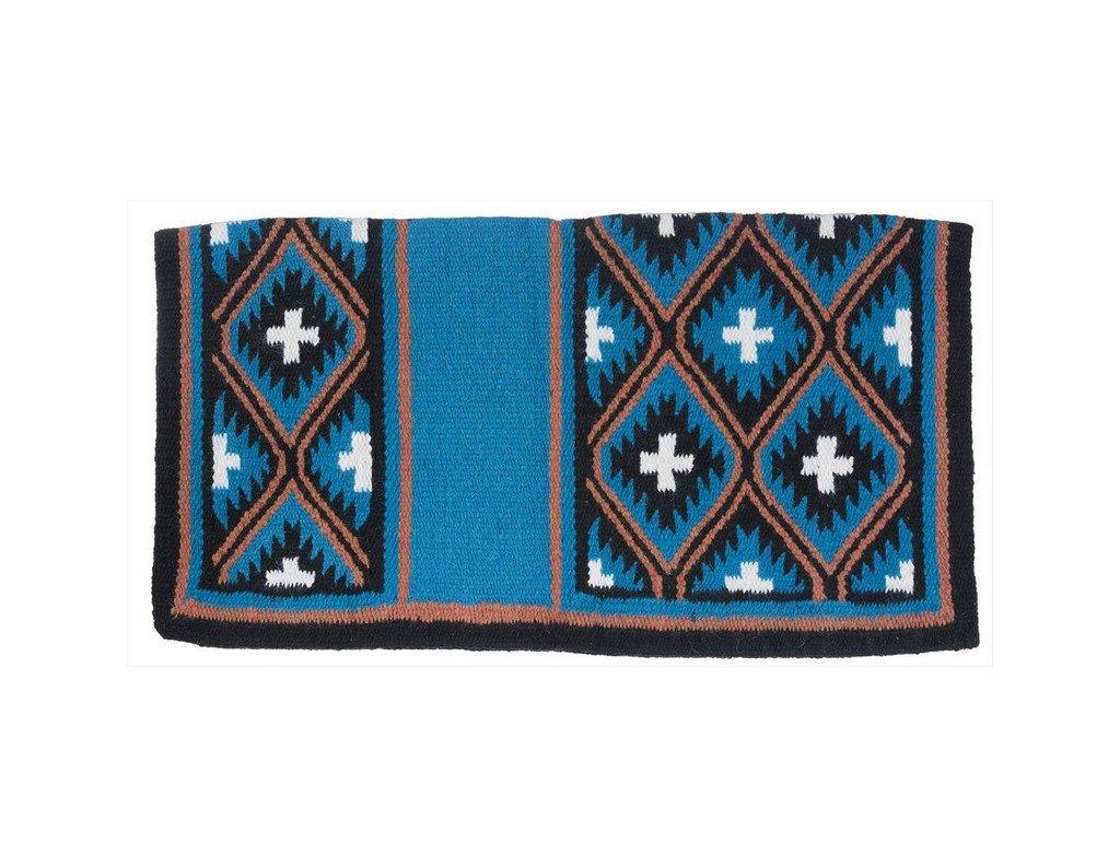 Tough 1 Sequoyah Wool Saddle Blanket Teal