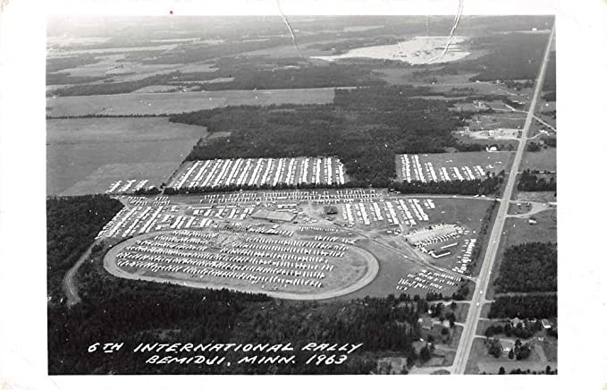 Bemidji Minnesota 6th International Rally Real Photo Antique