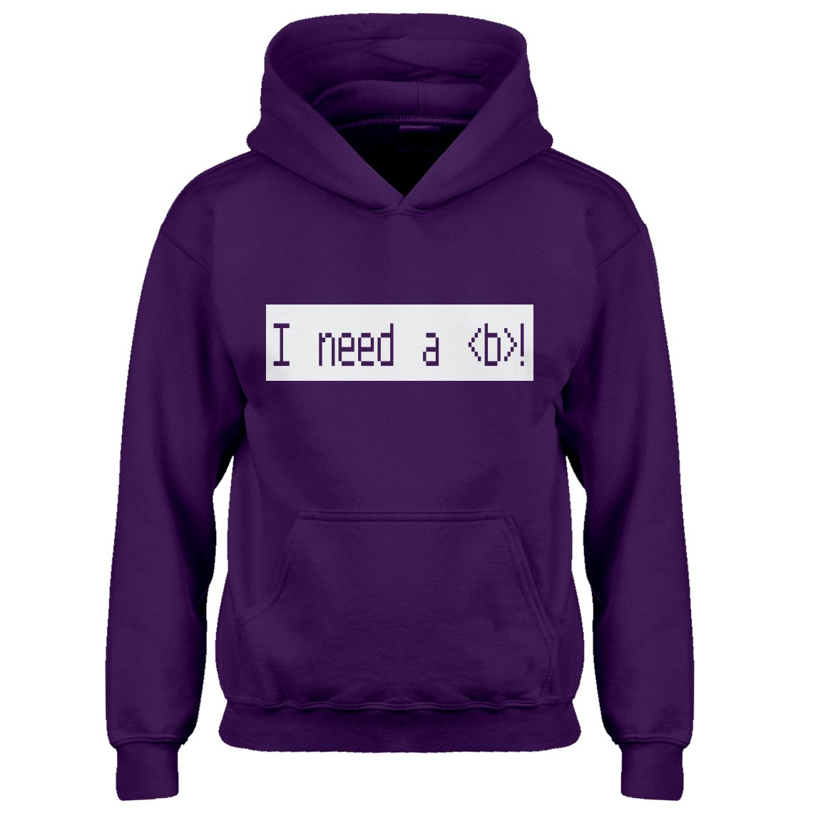 Indica Plateau Youth I Need a Break Kids Hoodie