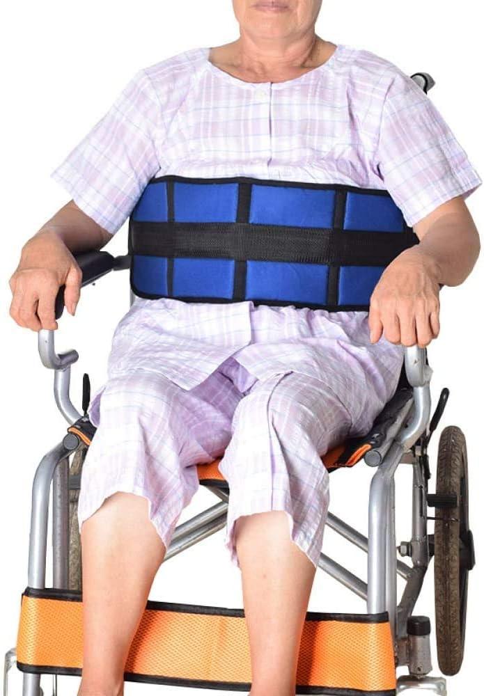 WXCCK Ancianos con Silla De Ruedas Asiento De Seguridad, Multifuncional Ajustable Cinturón De Seguridad para Sillas Ajustables Los Asientos Correas para Evitar Que Se Caigan Y Dumping