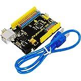 keyestudio UNO R3 ボード+USBケーブルfor Arduino アップグレード版Uno R3 ATmega328P ATMEGA16U2 ボード