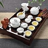 Meilleurs peuple chinois Céramique Kung Fu Théière Service à thé Avec plateau de thé