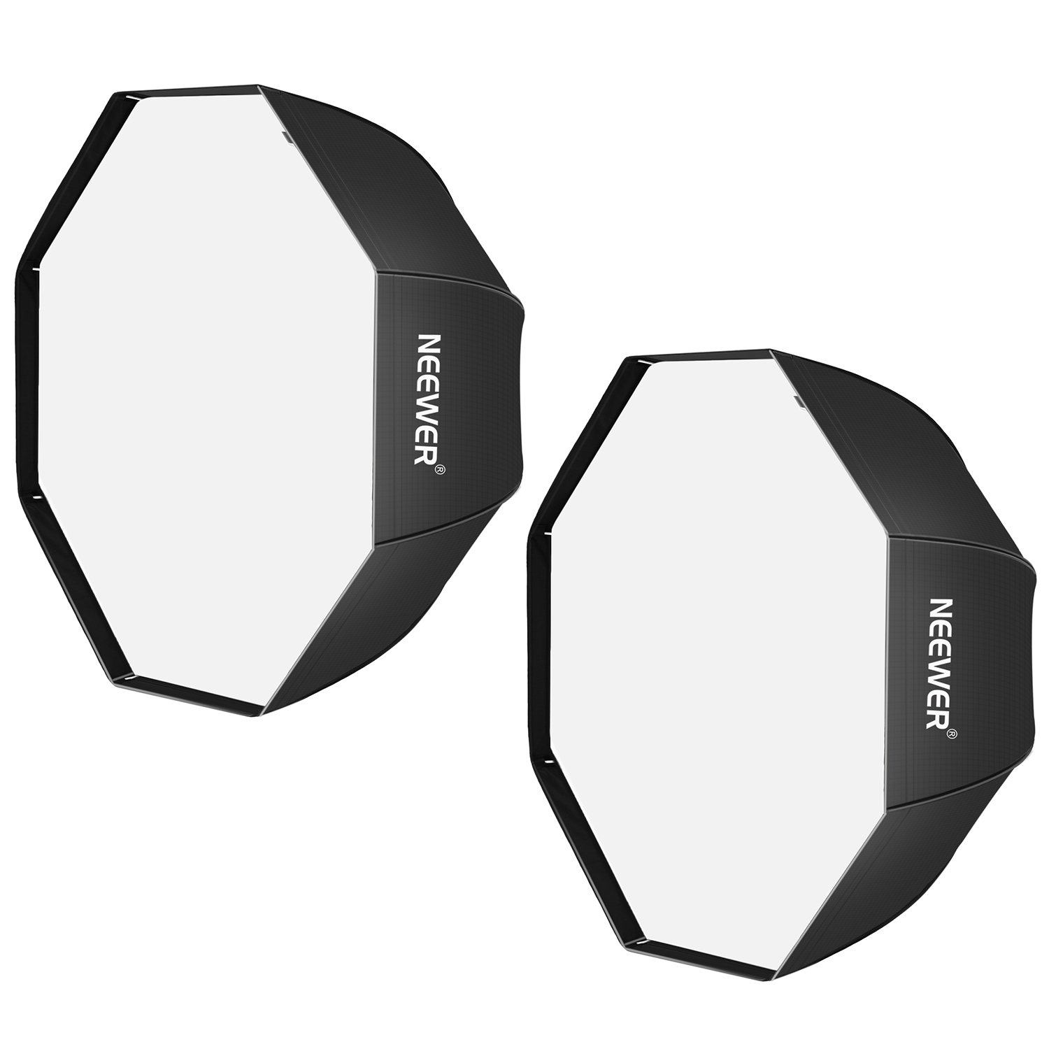 Neewer 32 inches /80 centimeters Black Portable Octagonal...