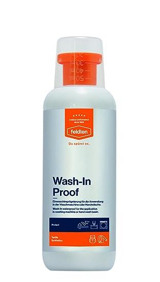 feldten WASH-IN PROOF hochwirksame Waschimprägnierung, erzeugt eine ultradünne und unsichtbare Schutzschicht 500 ml