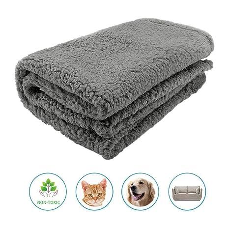 Kosayi Manta para Mascotas Duradera, Suave y cálida, Felpa de Felpa para Mascotas,
