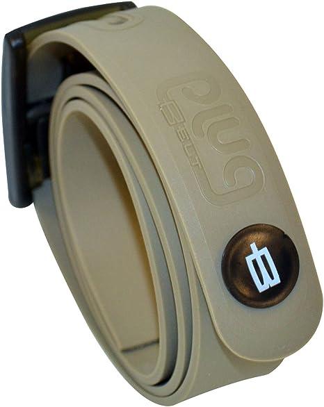PlugBelt & Ball Marker Kakhi - Cinturon de Golf para Hombre ...