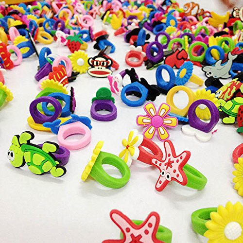 Buy_Stuff_Here 50 Children Sized Rubber Rings (Party Stuff)
