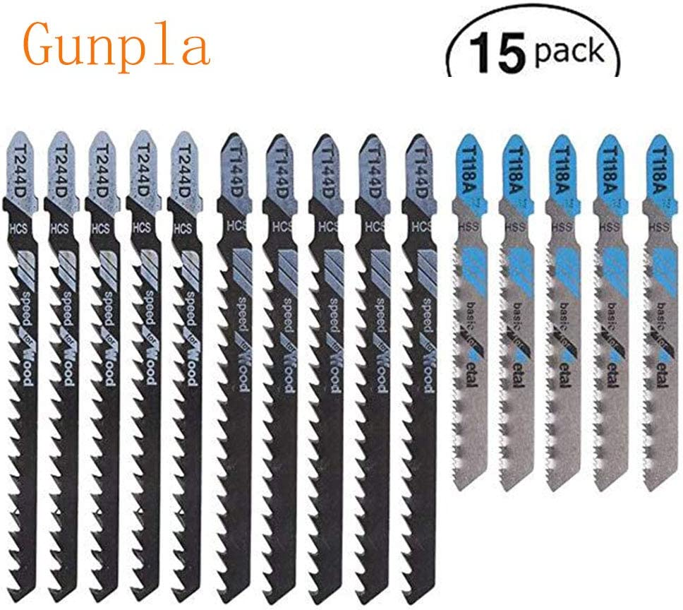 5. Gunpla OT429 15 Pieces Jigsaw Blade Set