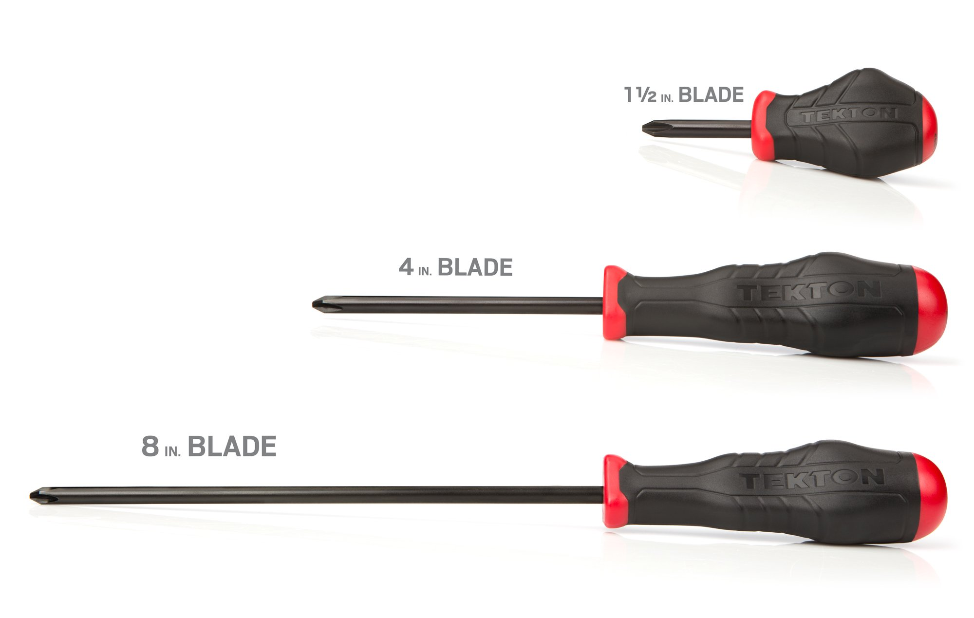 TEKTON 26759 Slotted and Phillips Screwdriver Set, 16-Piece by TEKTON (Image #2)