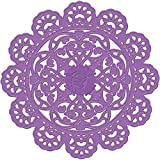 Prima Marketing 572785 Purple Metal Die, 4-Inch, Doily Eyelet Scallop