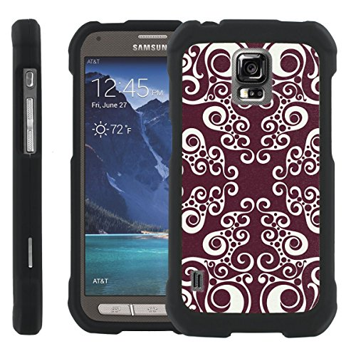 [ManiaGear] Design Graphic Image Shell Cover Hard Case (Wize Retro) for Samsung Galaxy [S5 Active] SM-G870A