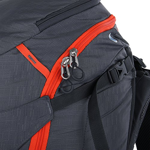 Portal Libra 45 L Rucksack Tourenrucksack Wanderucksack Rückenlänge Hüft- & Schulter-Gurte einstellbar + viele Fächer Taschen & Rückenbelüftung, Trekkingrucksack mit Trinksystem