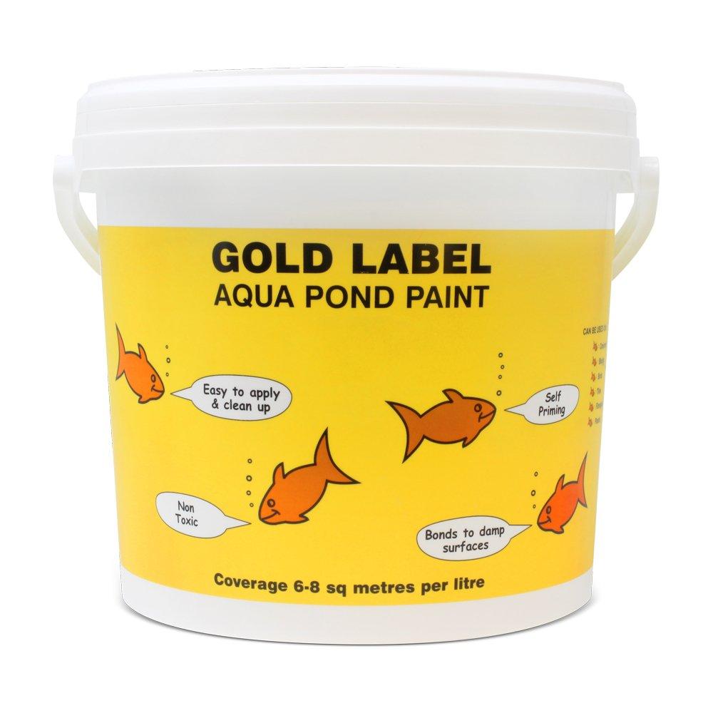 Clear 5L Clear 5L gold Label Aquatic Pond Paint 5litre Clear Self Priming
