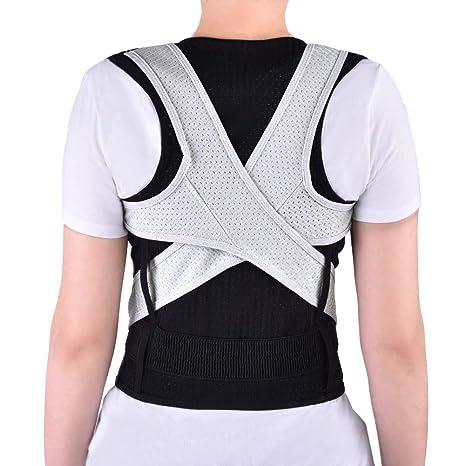 bbb1bb4cad9e Cinturón corrector de postura para mujeres y hombres, soporte de ...