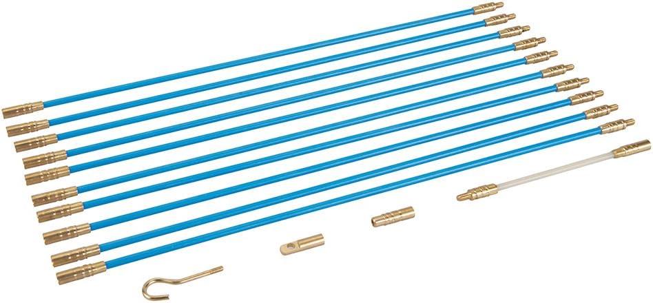10 x 330 mm Jeu 13 pièces de baguettes tire-fils