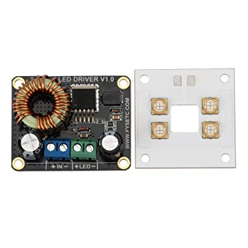 B Blesiya Panel Fuente Luz UV 40W Impresora 3D Accesorios Fácil de ...