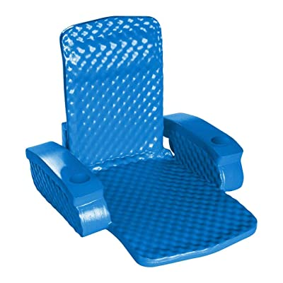 Texas Recreation Unsinkable Ensolite Chair - Blue: Sports & Outdoors