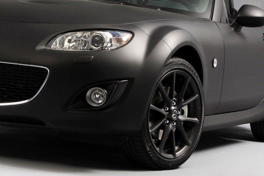 MATT SATIN BLACK FINISH VINYL CAR WRAP - AIR BUBBLE FREE 4m x1.52m Eagle Rise