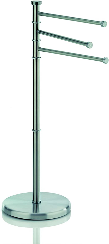 Kela Handtuchhalter 3 Arme Rostfrei Edelstahl Matt 85 5 cm Höhe Swing