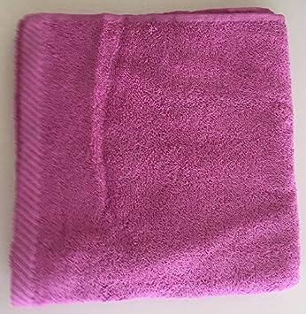 Aplike - Toalla de Lavabo 400 gr. algodón color malva 50x100 cm: Amazon.es: Hogar
