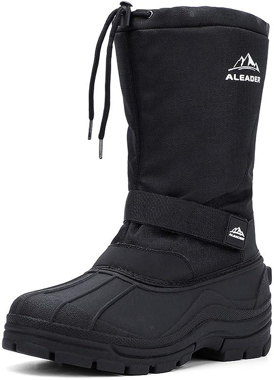 Amazon.com | ALEADER Winter Boots for