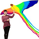 HENGDA KITE-Strong Phoenix with Long Colorful Tail!Huge Beginner Phoenix Kites for Kids and Adults 74-Inch Come with…