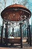building a gazebo Home Comforts Peel-n-Stick Poster of Kissing Couple Building Architecture Gazebo Poster 24x16 Adhesive Sticker Poster Print