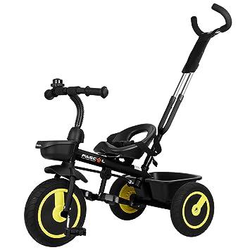 GOSFUN Triciclo para Niños con Función Plegable de 2 - 5 Años (Tamaño del Cuerpo