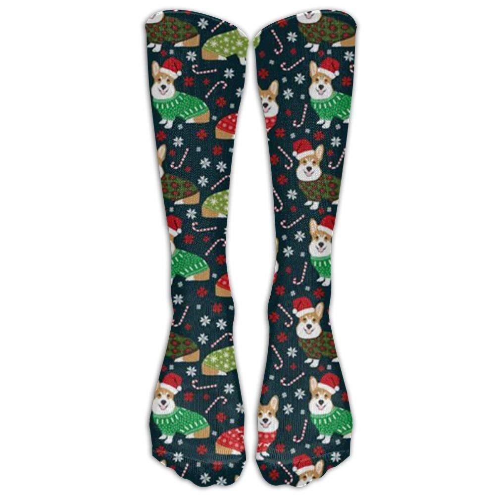 Corgi Unisex Cute Pattern Crew Socks Long Socks Boy's Girl's Lagle &